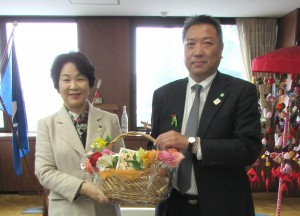 県庁訪問②