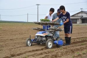 農業体験①